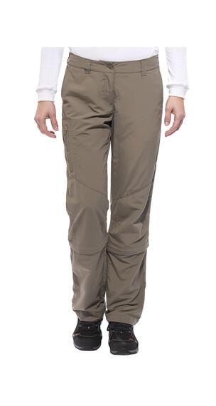 axant Alps - Pantalones de Trekking Mujer - Zipp off beige